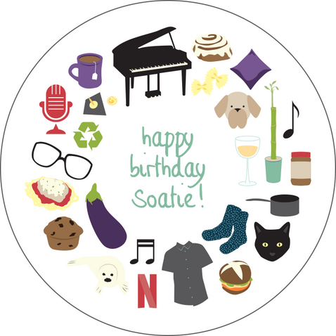 Personalized Birthday Card: Sophie