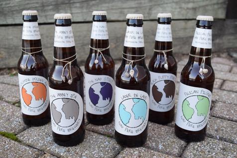 Bottle front designs SNC Class Project, 2015