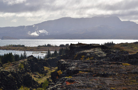 Þingvellir Afternoon Sun