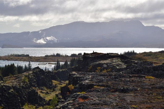 Þingvellir Afternoon Sun