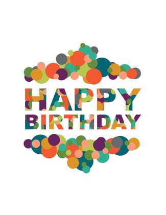 Happy Birthday Colors