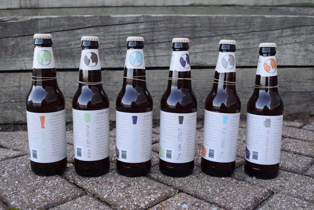 Bottle back design SNC Class Project, 2015