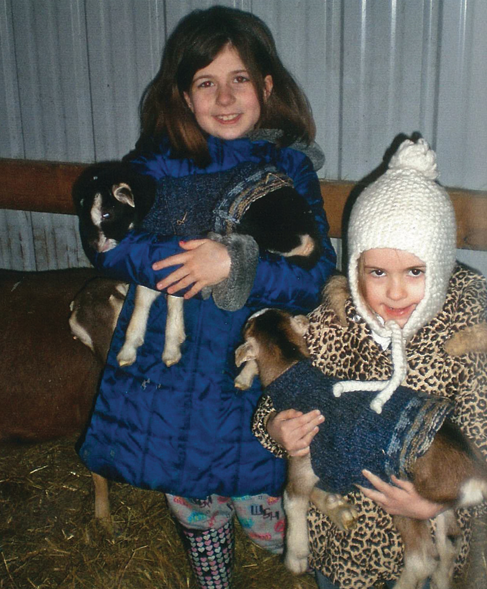 Rachel and Gracie with Their Babies, 2008