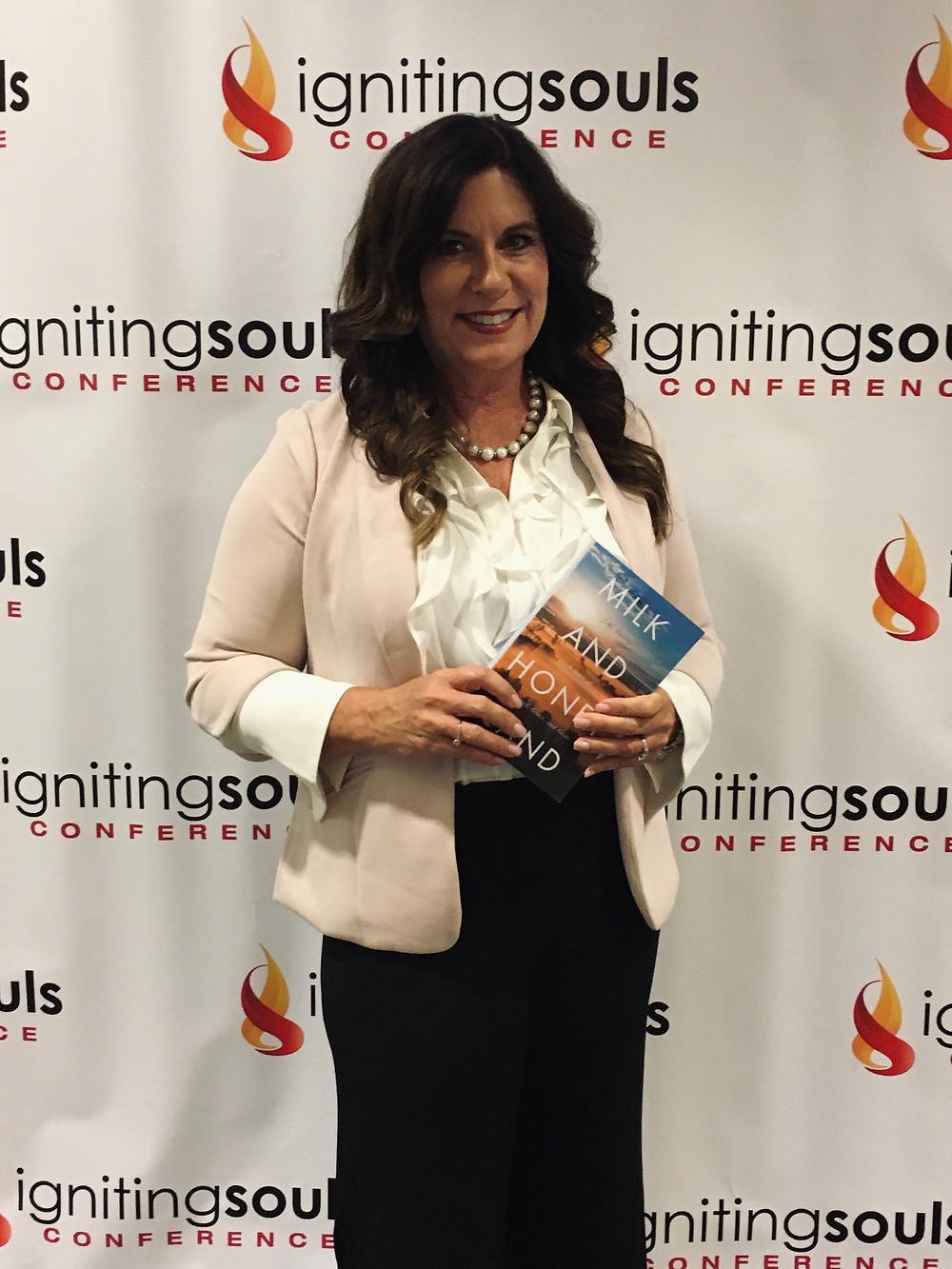 J. M. Huxley at The Igniting Souls Conference, October 2019