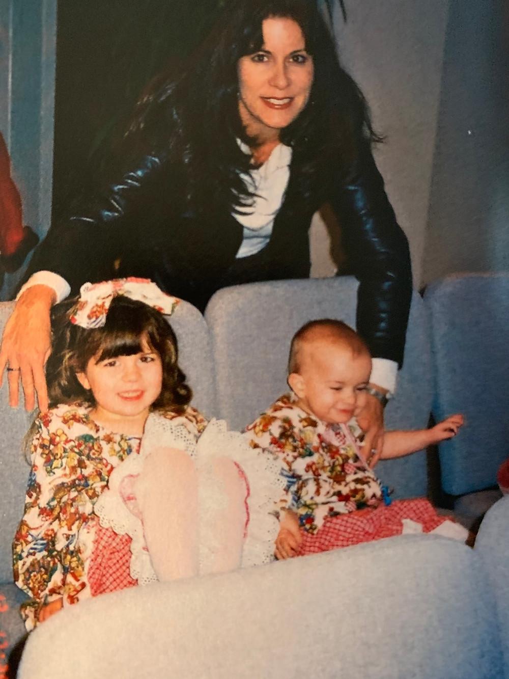 Christmas 2004 with Rachel and Gracie