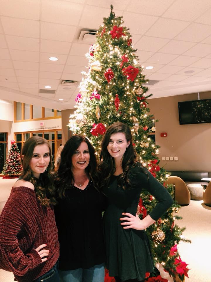 Christmas 2018 with Rachel and Gracie