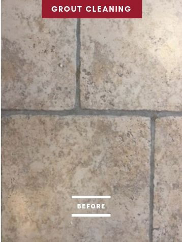 Before Grout Cleaning Service