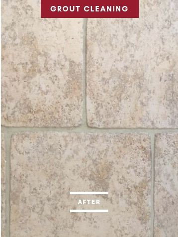 After Grout Cleaning Service