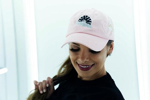 Southern Slang Dad Hat - Pink