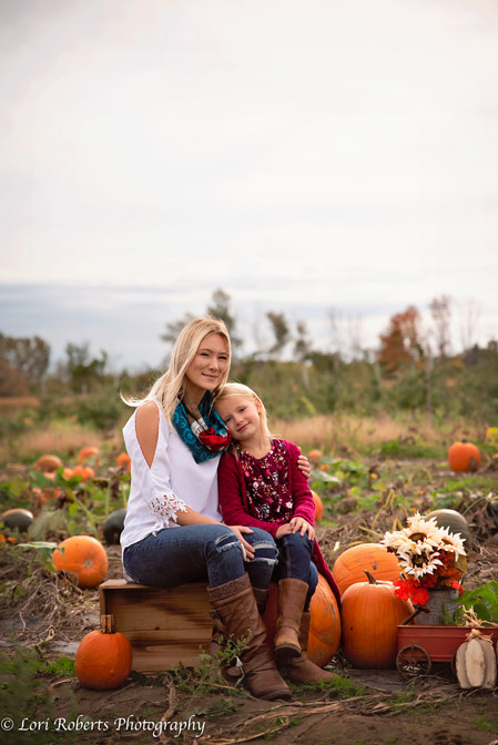 Mother Daughter Pumpkin