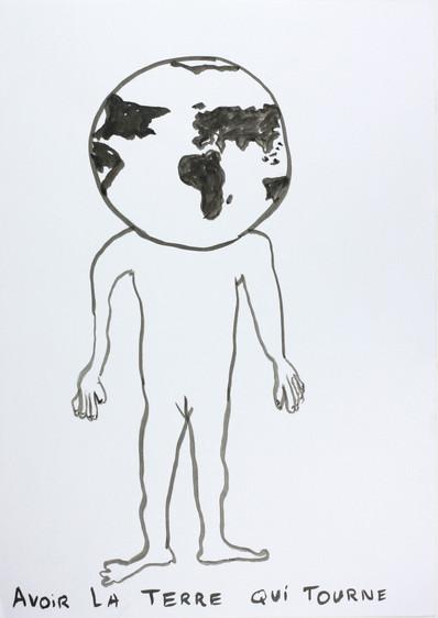 la terre qui tourne