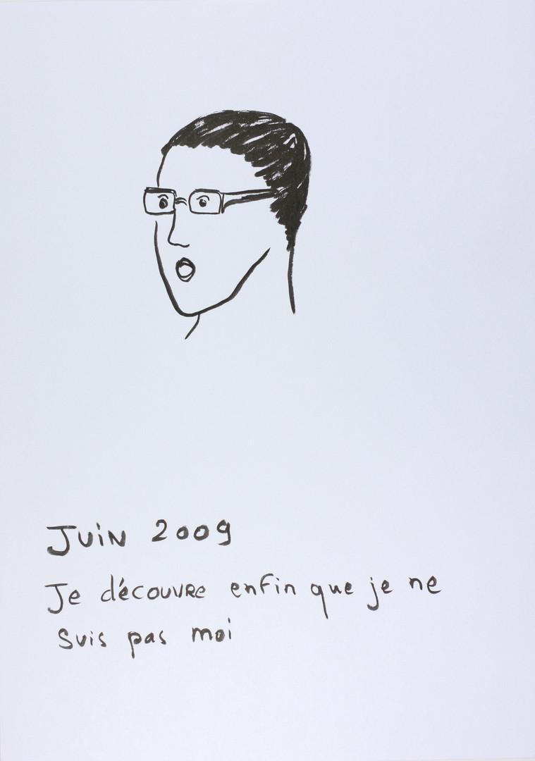 Reconnaissance,  Dessin 21x29,7 Camille Goujon