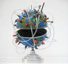 camille goujon, sculpture, monde