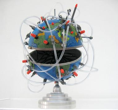 globe hydrographique