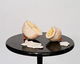 camille goujon, seins, sculpture, ceramique