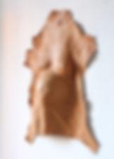 camille goujon, cuir, sculpture, pregnant