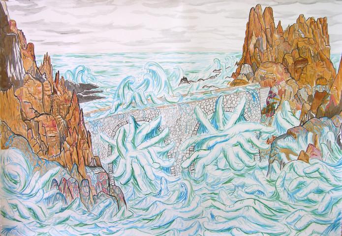 Les doigts de la mer