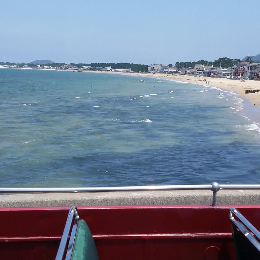 福間海岸の海