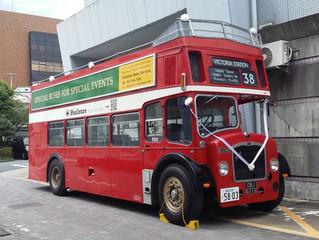ロンドンバスを出展します。