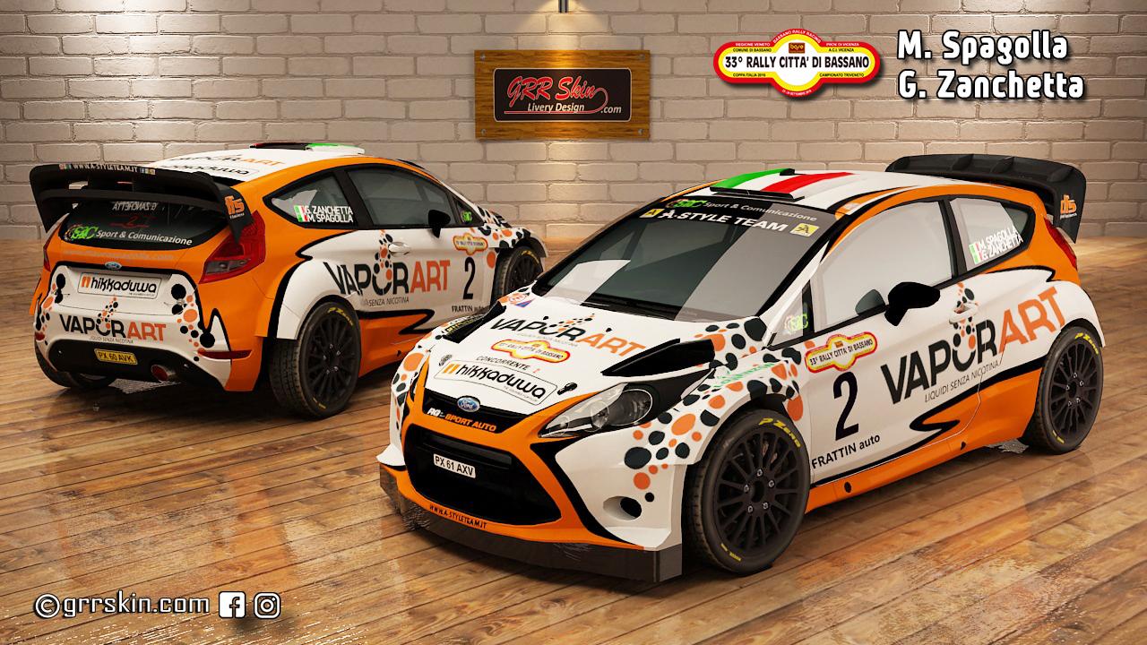 Ford Fiesta WRC 12 Spagolla-Zanchetta ra