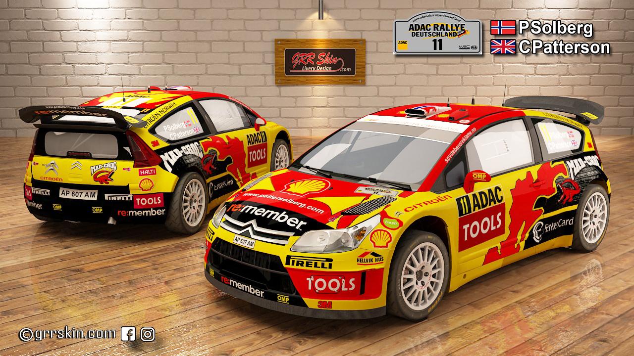 C4 WRC 10 Solberg Deutschland 2010