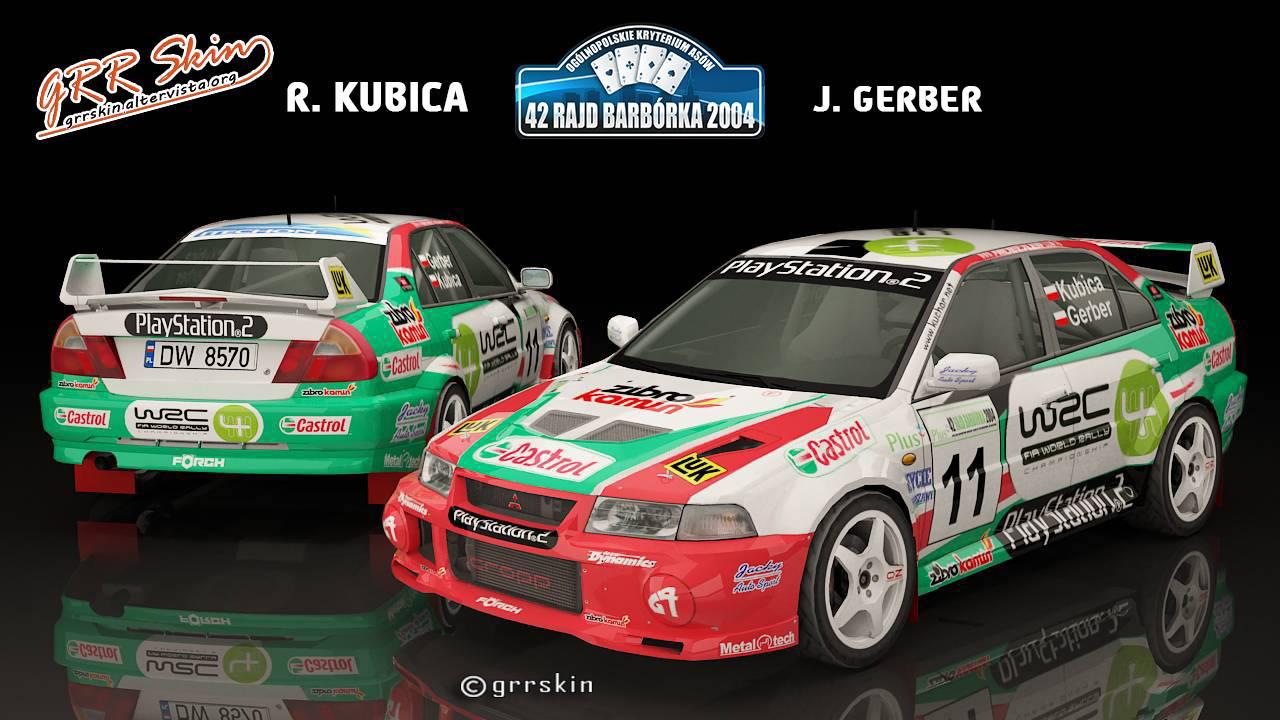 R. Kubica - J. Gerber