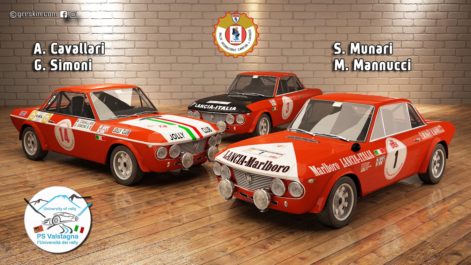 Rally San Martino di Castrozza 1971_73
