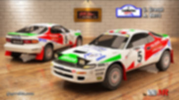 Toyota Celica st185 Grossi San Marino 19