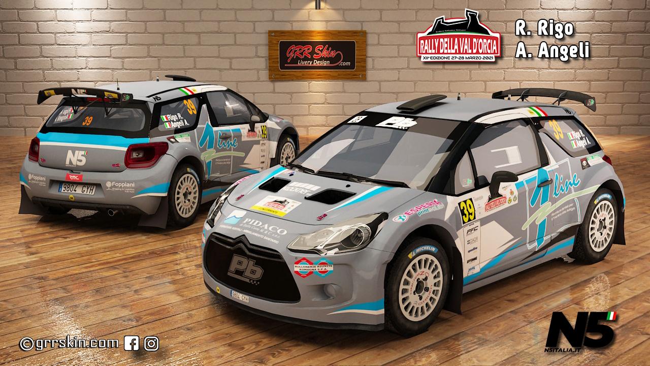 DS3 N5 Rigo Rally della Val'Orcia 2021