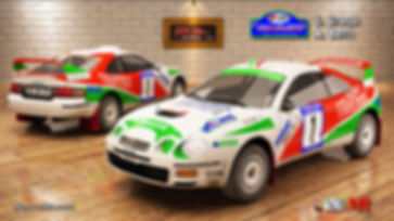 Toyota Celica st205 Grossi Rally del Mob