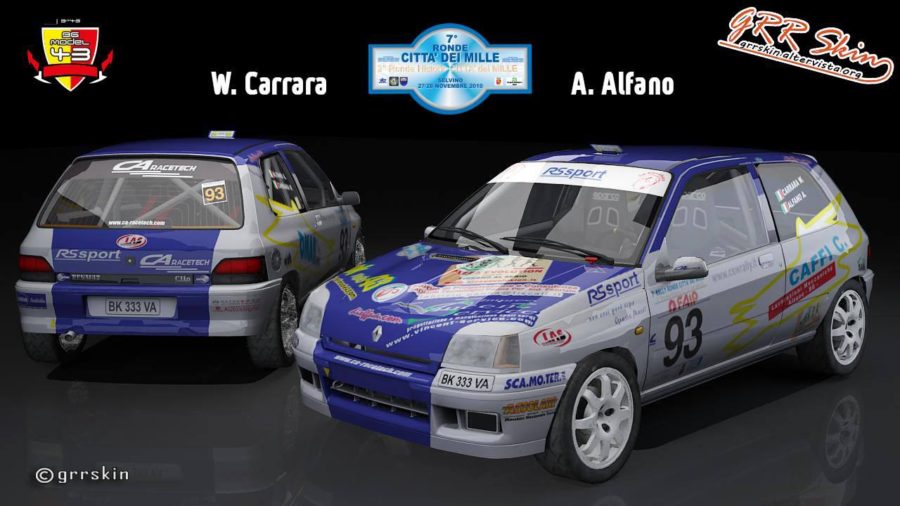 W. Carrara - A. Alfano