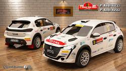 Peugeot 208 Rally 4 Andreucci Rally 2 Va