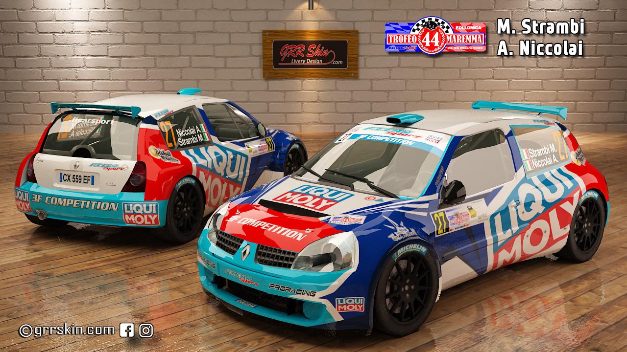 Clio S1600 Strambi Trofeo Maremma 2020