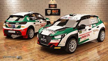 Peugeot 208 Rally4 Mingarelli M. #7123.j