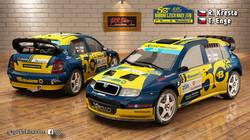 Skoda Fabia WRC Kresta Barum 2021