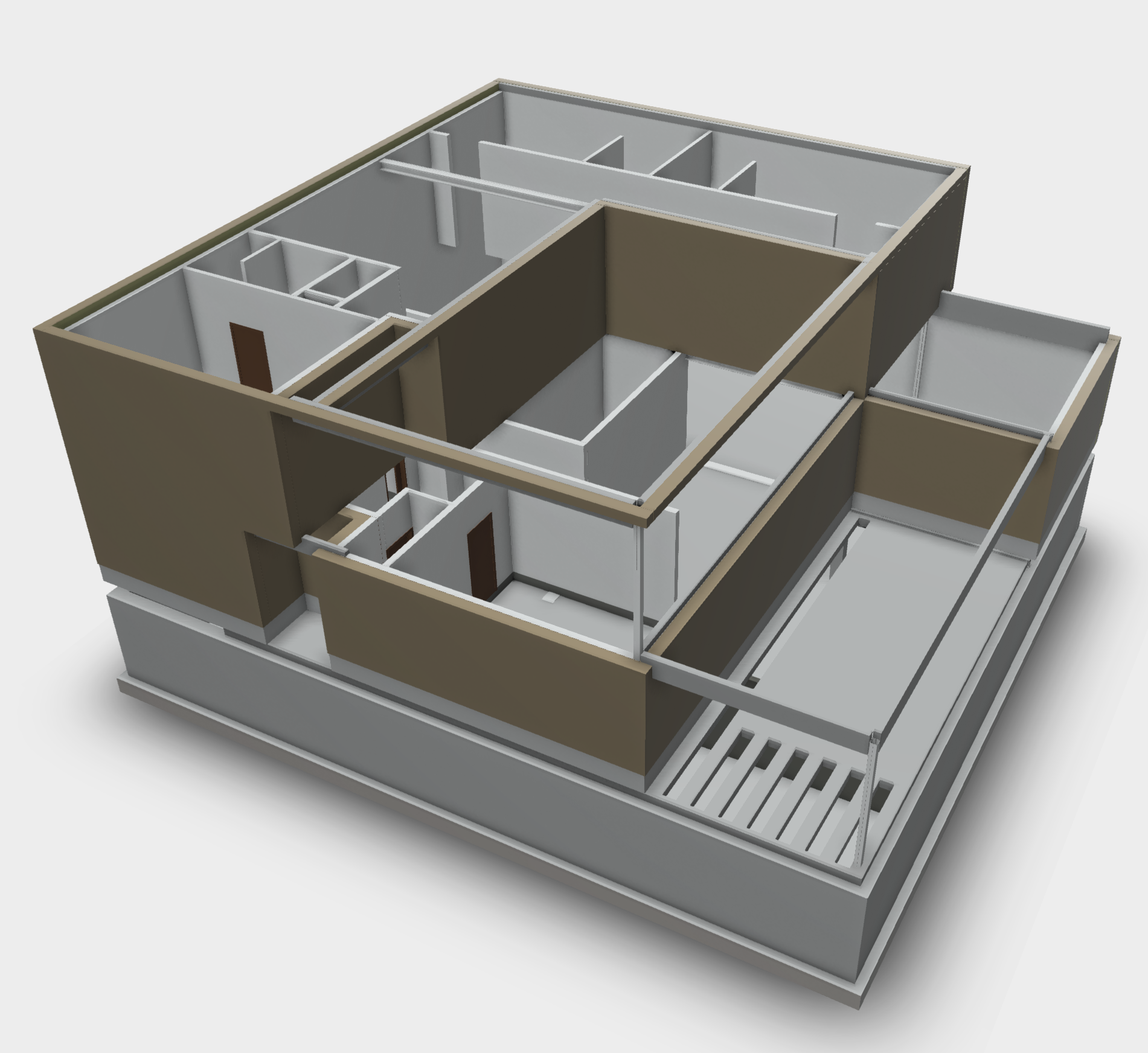 Revit model in opbouw