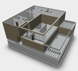 Revit model in opbouw