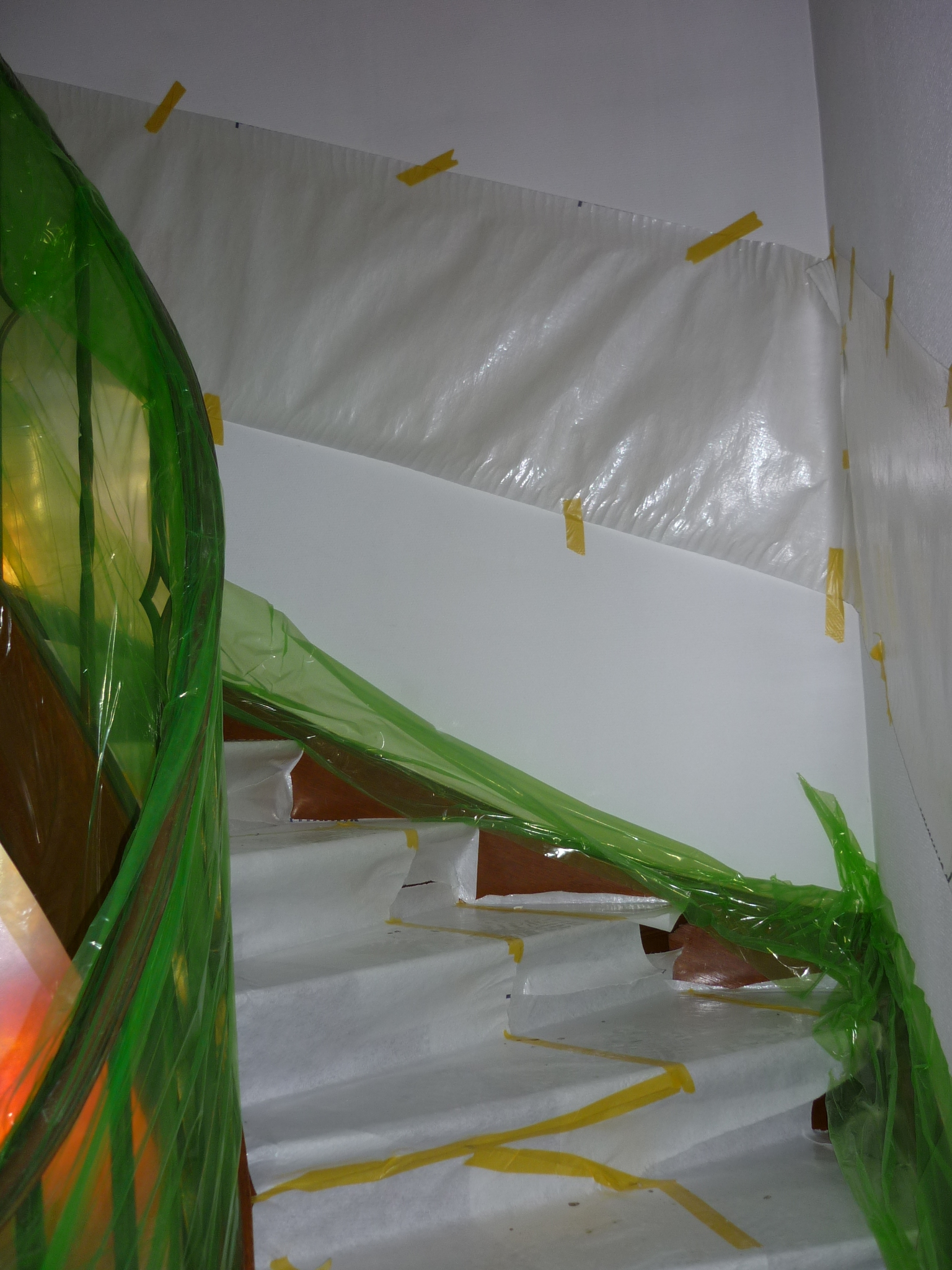 Bestaande trap te behouden