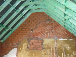 Nieuwe dakstructuur