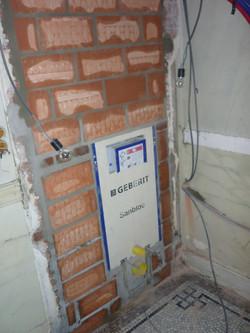 Inwerken toilet