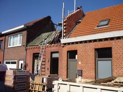 Opbouw extra verdieping
