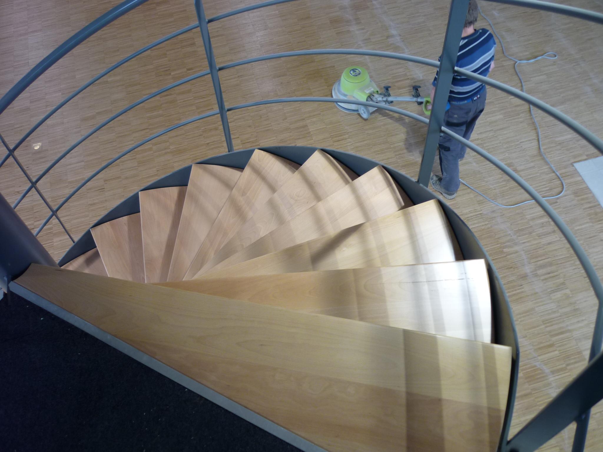 Nieuwe traptreden