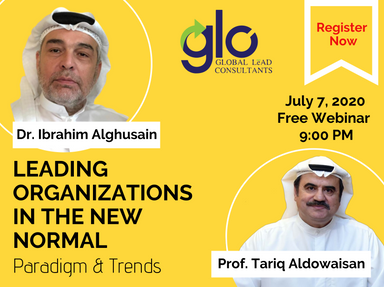 Webinar: Leading Organizations in the New Normal