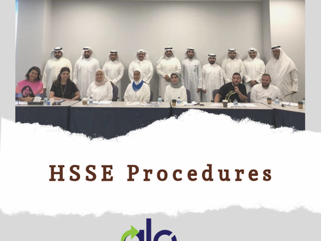 HSSE Procedure Series