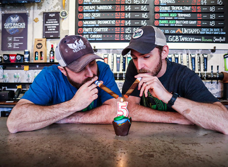 Gate City Brewing co hits 5-year mark with stride.