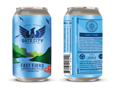 Fast Fjord Norwegian Style IPA: New Can Release