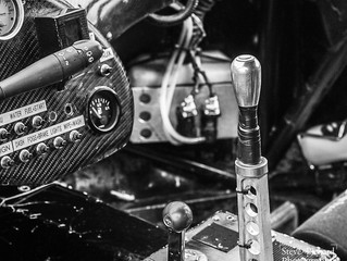 "Its as clear as Black & White, Images from the ""Yorkshire Post Classic Car Show"" at Ca"