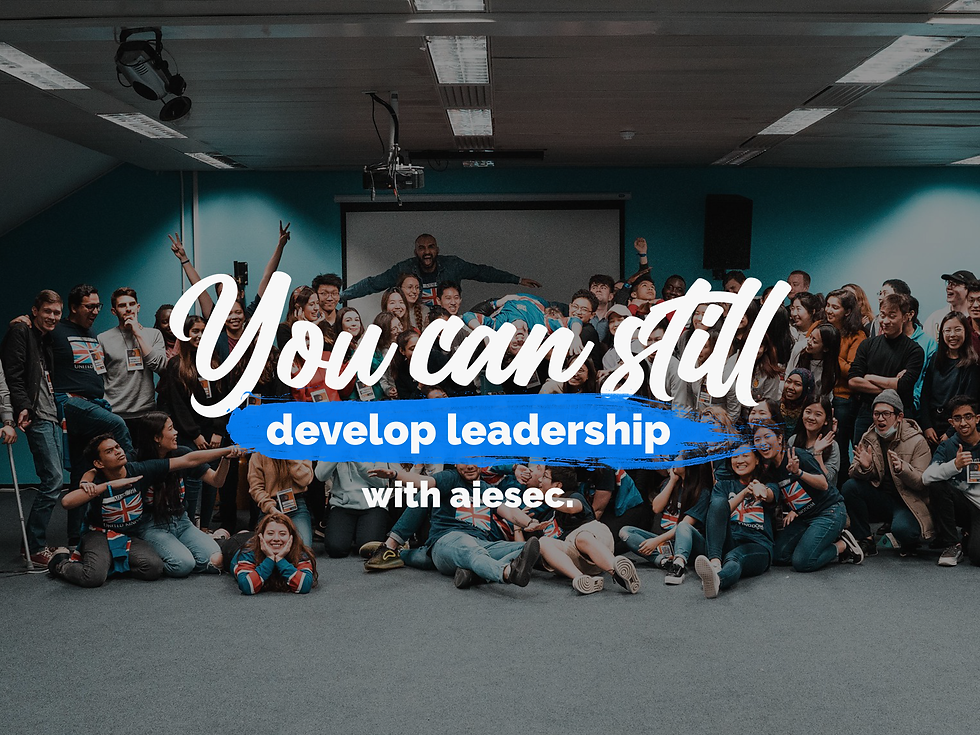 0. You can still develop leadership bann