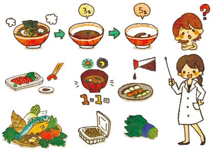 減塩食チラシ