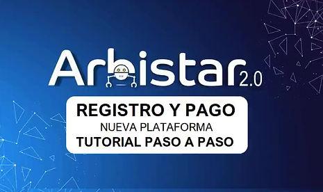 Tutorial Registro y Pago Arbistar 2.0